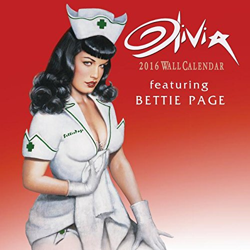 9781554843145: Olivia Featuring Bettie Page 2016 Calendar