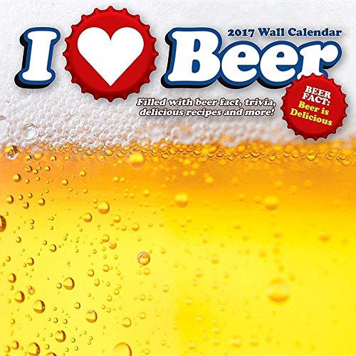 9781554843374: I Love Beer 2017 Calendar