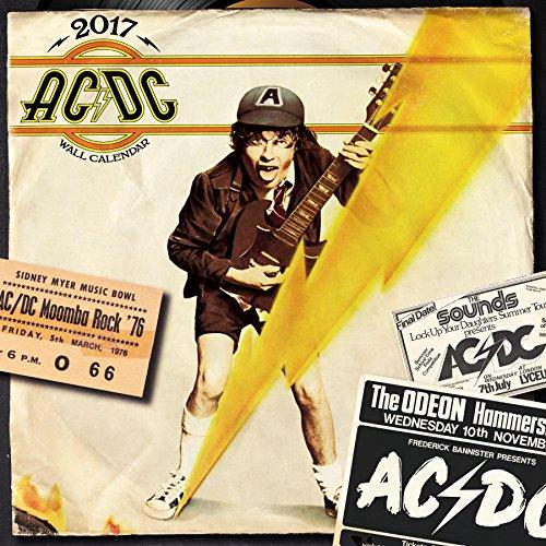 9781554843404: AC/DC 2017 Calendar