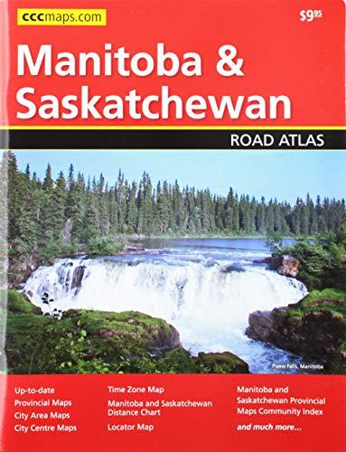 9781554861033: Manitoba and Saskatchewan Road Atlas