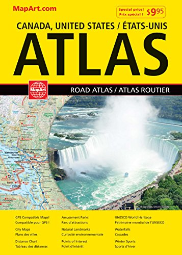 9781554861224: Atlas : Canada, United States, Mexico