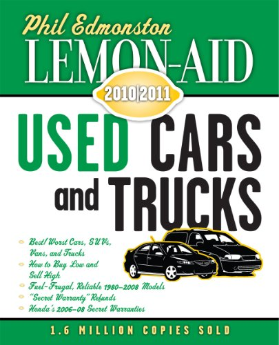 Lemon-Aid Used Cars and Trucks 2010-2011 (Lemon-Aid: Used Cars & Trucks): Phil Edmonston
