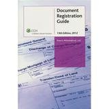 9781554960842: Document Registration Guide. 11th edition(Chinese Edition)