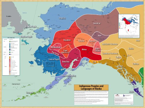 9781555001131: Indigenous Peoples and Languages of Alaska
