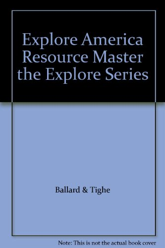 9781555011918: Explore America Resource Master the Explore Series