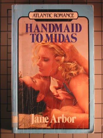 9781555042196: Handmaid to Midas (Atlantic large print)