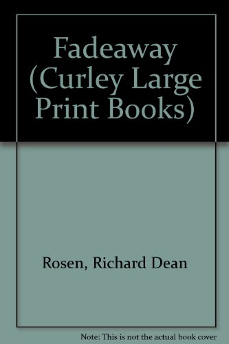 9781555043681: Fadeaway (Curley Large Print Books)