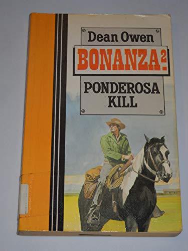 9781555044114: Bonanza: Ponderosa Kill (Curley Large Print Books)