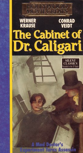 9781555105594: The Cabinet of Dr. Caligari; A Mad Doctor's Experiment Turns Assassin (HOLLYWOOD MOVIE GREATS SILENT CLASSICS)