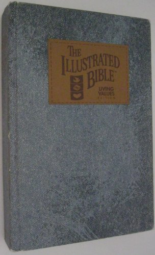 The Illustrated Bible (Blue Stone-Washed Simulated Denim)