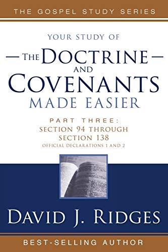 9781555178758: Doctrine & Covenants Made Easier #3 (Gospel Studies)
