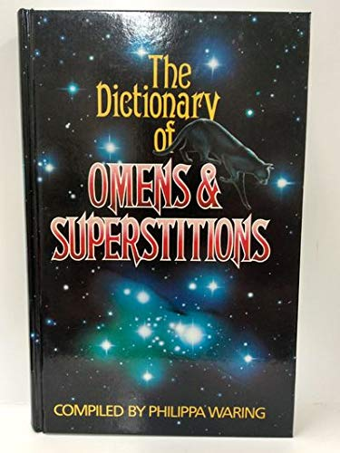 9781555211097: Dictionary of Omens and Superstitions