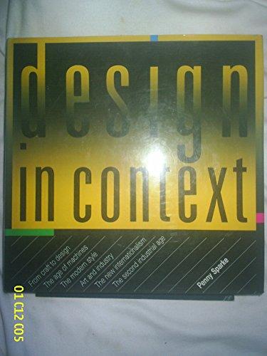 Design in Context.: SPARKE, P.
