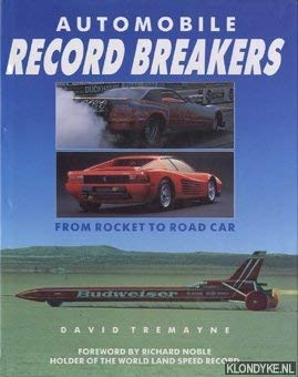 9781555214548: Automobile Record Breakers (A Quintet book)