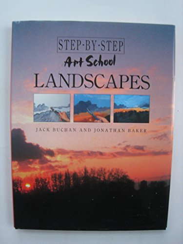 9781555218287: Step-By-Step Art School Landscapes
