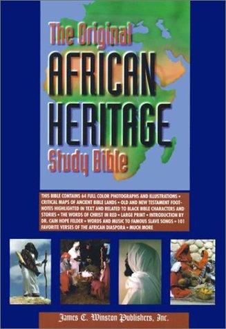 9781555233716: Original African Heritage Study Bible