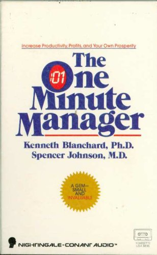 9781555252939: The One Minute Manager: Increase Productivity, Profits, and Your Own Prosperity/Cassette