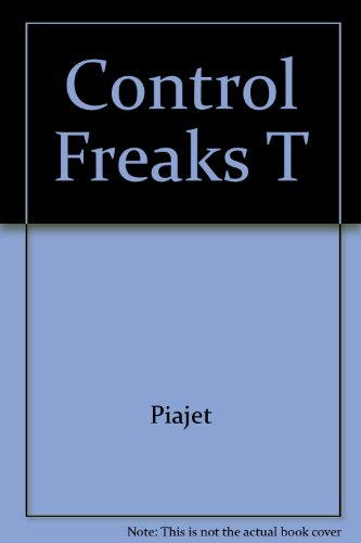 9781555254209: Control Freaks - Who They Are and How to Stop Them From Ruining Your Life