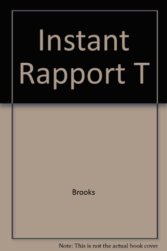 9781555254230: Instant Rapport T