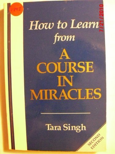 9781555311391: How to Learn from a Course in Miracles