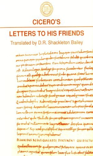 9781555402648: Cicero's Letters to His Friends (American Philological Association Classical Resources)