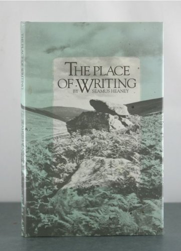 9781555403157: The Place of Writing (Emory Studies in Humanities)