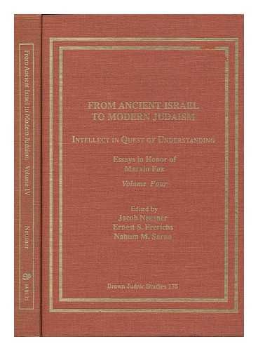 9781555403430: 175: From Ancient Israel to Modern Judaism: Intellect in Quest of Understanding (Neusner Titles In Brown Judaic Studies)