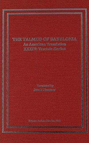 The Talmud of Babylonia: An American Translation,: Neusner, Jacob