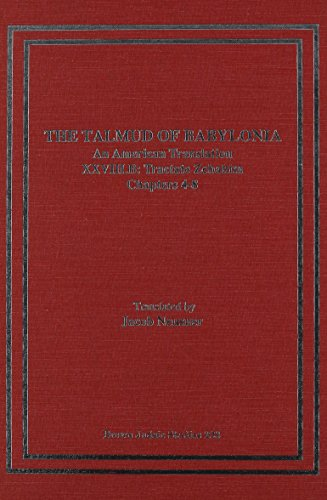 The Talmud of Babylonia: An American Translation, Vol. 28 - Tractate Zebahim (1555406351) by Jacob Neusner