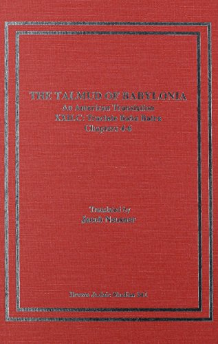 The Talmud of Babylonia: Tractate Baba Batra Volume XXVIIC: An American Translation (Hardback): ...