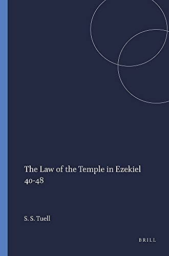 9781555407179: The Law of the Temple in Ezekiel 40-48 (Harvard Semitic Monographs)