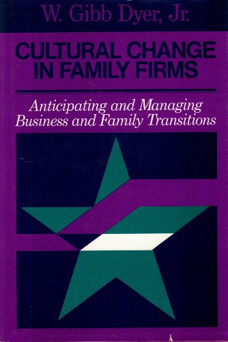 Cultural Change in Family Firms: Anticipating and: Dyer, William G.