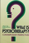 9781555422837: What is Psychotherapy?: Contemporary Perspectives (Jossey-bass social & behavioral science Series)