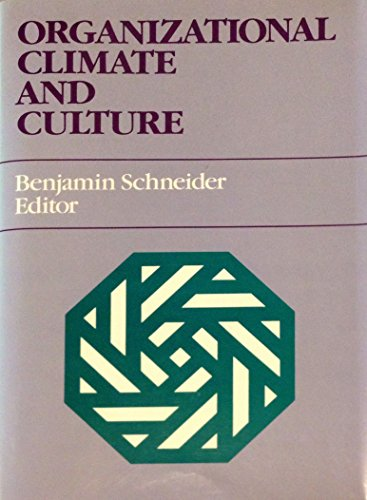 9781555422875: Organizational Climate and Culture (JOSSEY-BASS SOCIAL AND BEHAVIORAL SCIENCE SERIES)