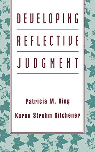 9781555426293: Developing Reflective Judgment