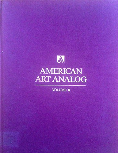 9781555460020: American Art Analog 1842-1874, Vol.II (Only)