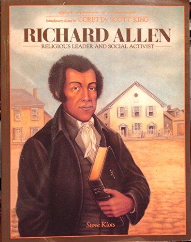 9781555465704: Richard Allen (Baa)(Oop) (Black Americans of Achievement)