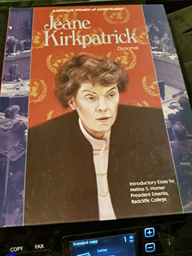 9781555466633: Jeane Kirkpatrick, Diplomat (American Women of Achievement)