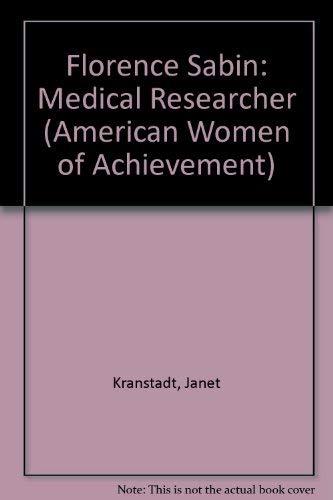 Florence Sabin (Women of Achievement): Janet Kronstadt