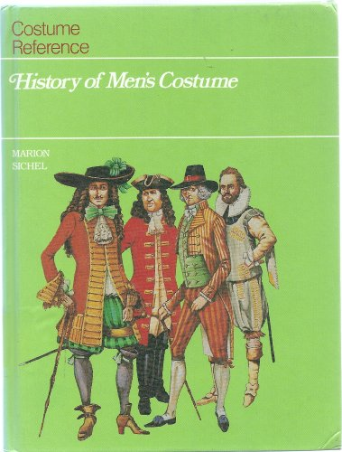 9781555467555: History of Men's Costume (Costume Reference Books)