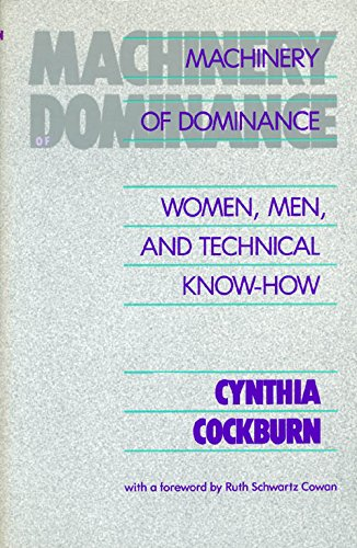 Machinery Of Dominance: Women, Men, and Technical: Cockburn, Cynthia