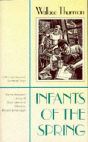 Infants Of The Spring (Northeastern Library of: Wallace Thurman, Amritjit