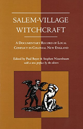 9781555531652: Salem-Village Witchcraft: A Documentary Record of Local Conflict in Colonial New England