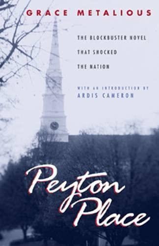 9781555534004: Peyton Place (Hardscrabble Books–Fiction of New England)