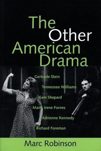 The Other American Drama (PAJ Books) (1555540678) by Robinson, Marc