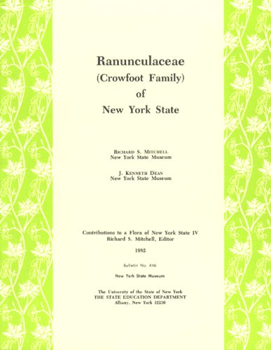 Ranunculaceae (Crowfoot Family) of New York State: Richard S. Mitchell, J. Kenneth Dean