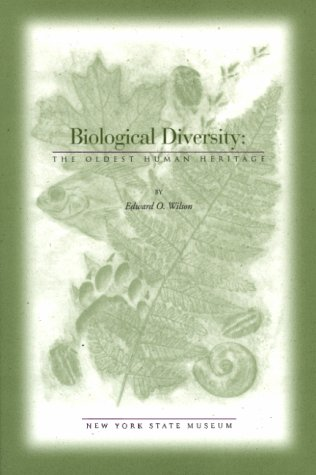 9781555572105: Biological Diversity : The Oldest Human Heritage (Educational Leaflet (New York State Museum), No. 34.)