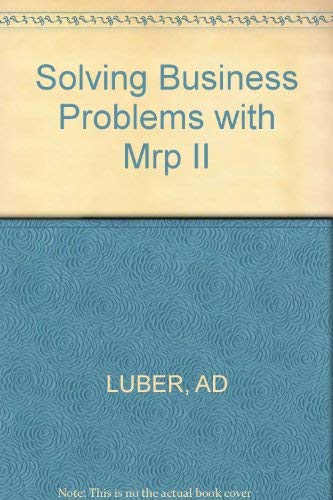 9781555580582: Solving Business Problems With Mpr II