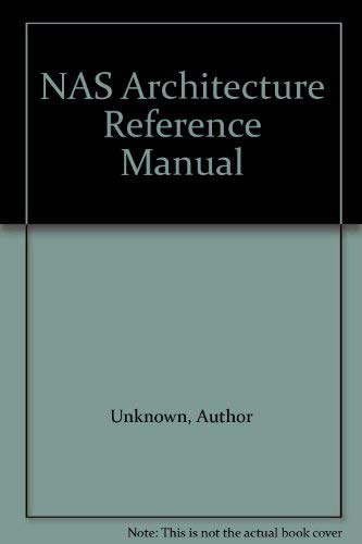 9781555581152: NAS Architecture Reference Manual