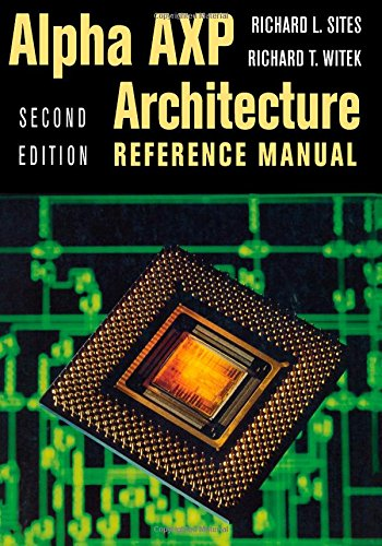 9781555581459: Alpha Architecture Reference Manual